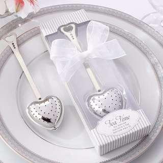 Wedding Souvenir Tea Infuser Giveaway