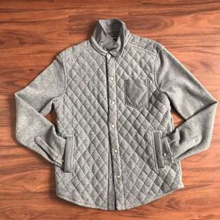 Banana Republic Button Up Quilted Shirt