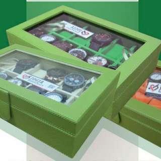 Kotak Jam Tangan Isi 12/Tempat Jam Tangan/Watch Box