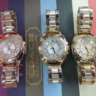 NEW ARRIVAL COACH WATCH