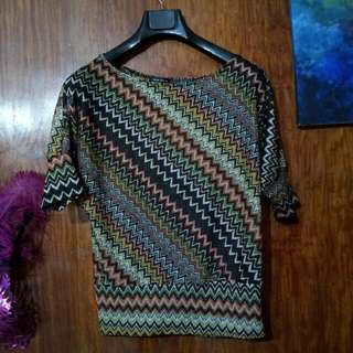 Missoni-inspired Top From Italy