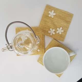 Flower Coasters (Set Of 6)