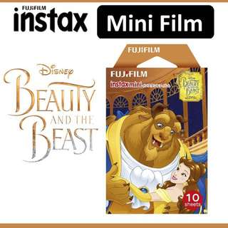 Beauty and the beast instax mini refill