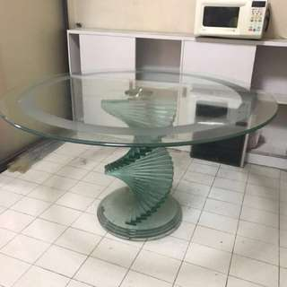 Design Classic Glass Table
