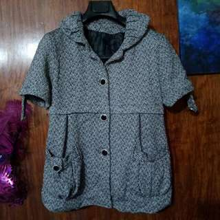 Tweed Blouse With Lining