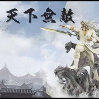 XM STUDIOS THE ULTIMATE SWORDSMAN (天下無敵) 1/4 SCALE STATUE