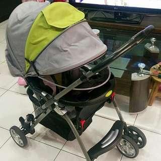 含運-2.5折【Merissa美瑞莎】雙向嬰兒手推車(LT-3R)