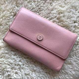 Chanel Vintage Pink Wallet