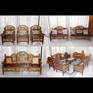 Real Teak Wood Furniture Set