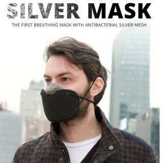 Silver Mask - High-Performance Breathing Mask