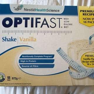 OptiFast Vanilla Shake 18Pk
