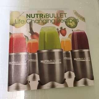 Preloved Nutribullet Recipe Book