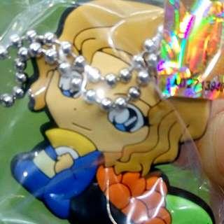 藏壽司扭蛋 軟塑膠鑰掛件 名偵探柯南 唐紅的戀歌 大岡紅葉
