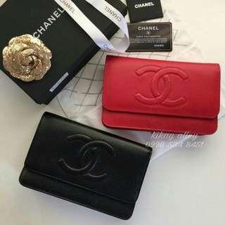Chanel WOC Wallet On Chain CC Logo