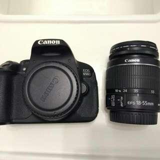 Canon EOS 650D + Canon 18-55mm f3.5-5.6 IS Mark II