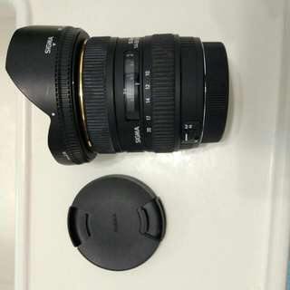 Sigma 10-20mm f4.0-5.6 DC HSM Canon Mount