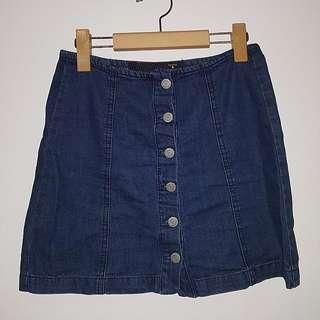 Factorie Denim Skirt