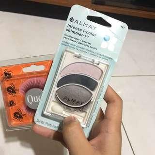 Almay Eyeshadow With QUO Flase Eyelashes