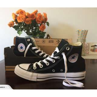 Converse Chuck Taylor All Star Hi Black Women 6