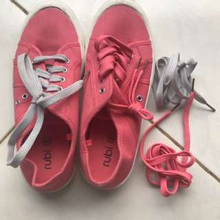 Pink Casual Sneakers