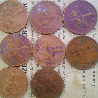 Lot Of US_PHILIPPINE One Cents 1944