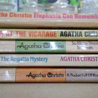 agatha christie's books