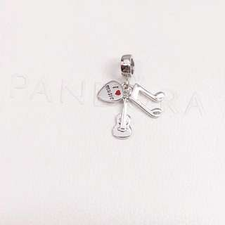 Pandora Charm - I Love Music