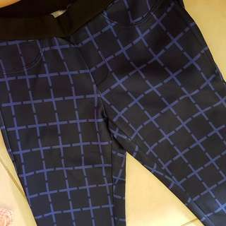 Legging Pattern Blue