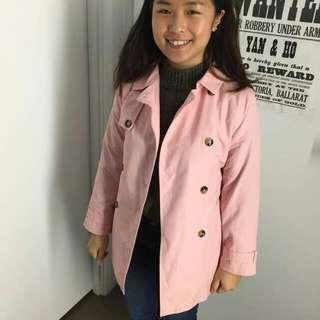 Zara Pink Outerwear