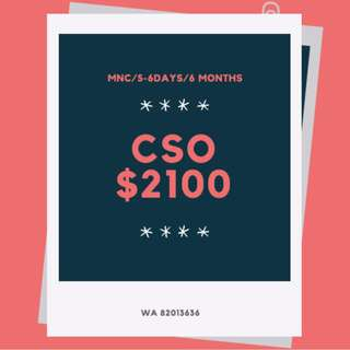 $2100 ♥ 6 MONTHS CUSTOMER SERVICE OFFICERS ♥ HIGH PAY / TRAINING PROVIDED ♥ SOMERSET