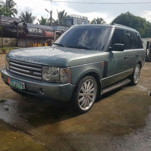 2004 Land Rover Range Rover Hse Full Size With Overfinch Mags R22