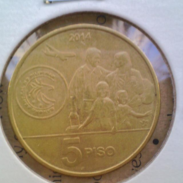 2014 Bagong Bayani 5pesos Commemorative Coin