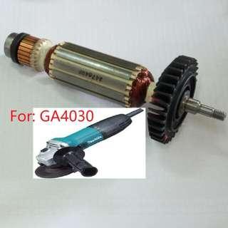 Brand New Original Makita Armature For Angle Grinder: GA4030