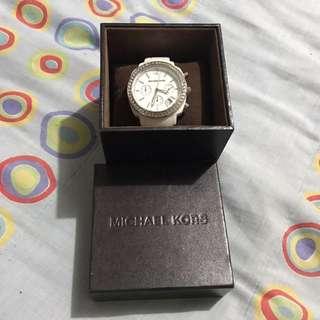 Michael Kors White Analog Watch