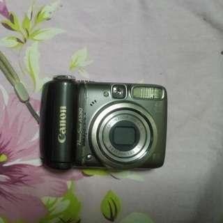 Canon Powershot A590 Digital Camera