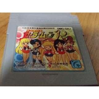 Nintendo Game Boy Color Sailor Moon R Game Cartridge