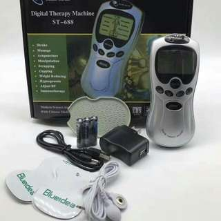 4 pads digital therapy machin