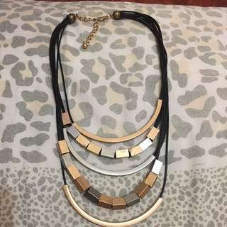 Necklace Gold & Silver