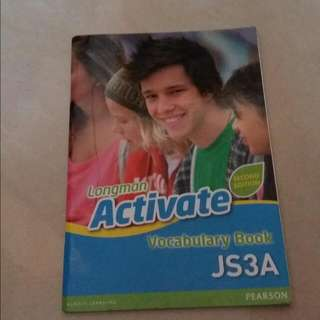 Longman Activate Vocabulary Book