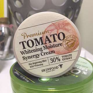 Skin Food Premium Tomato Whitening Moisture Synergy Cream