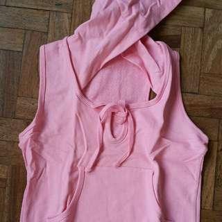 Hoodie Sleeveless Active Wear