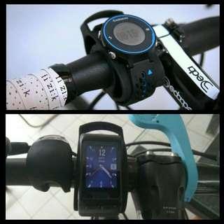 BICYCLE HANDLEBAR MOUNT KIT 運動手錶單車手把固定座
