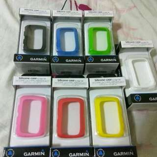 Garmin Edge 520/520 plus Silicone Case 保護套 1個,送 Garmin鋼化玻璃膜1張