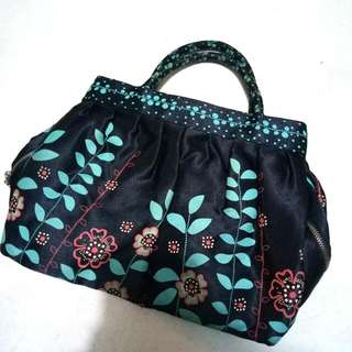 Mini Bag Blue Floral