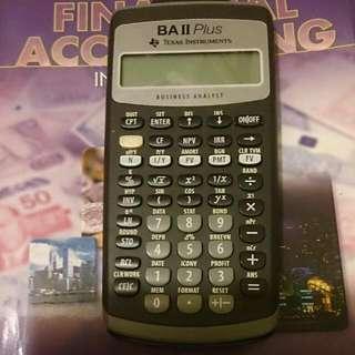 財務計數機 Financial Calculator