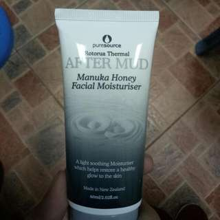 Pure Source Rotorua Thermal After Mud Manuka Honey Facial Moisturiser - Authentic From New Zealand
