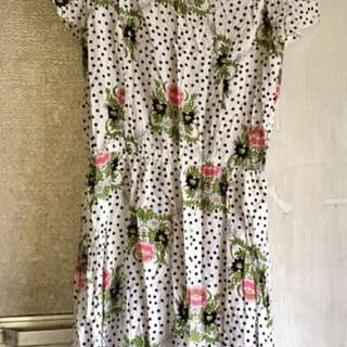 cotton on white floral dress