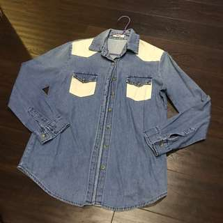korean denim outerwear