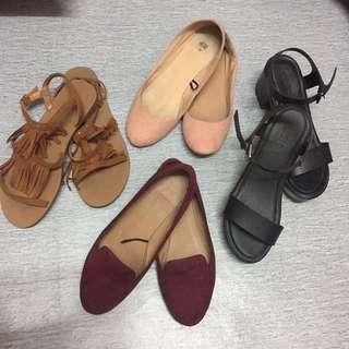 H&M Rubi Heels Sandal Flats
