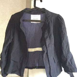 cotton fitted jacket
